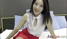 very pretty asian school girl forced to cum by vibrator