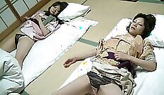 Asian Huge natural tits brunette teen and old Japanese young