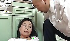 Beautiful Japanese mother fucking a long haired sexual partner