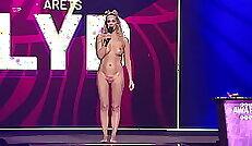 Nude comedy with Heath Rainbow as a sexy model