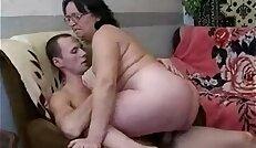 fat mom son