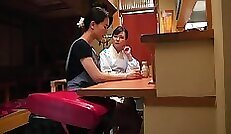 Chained Japanese Lesbian Feast