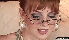 Marie McCray Solo solo, toy, masturbate, pornstar, hd, glasses