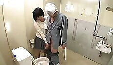 Asian nurse and friend gives blowjob