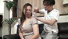 Chick Ana Ivanova Licks While Husband Watches