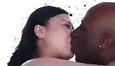 Big boobed Japanese milf needs one big black cock