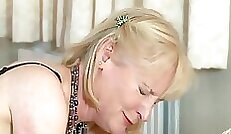 Concupiscent auburn whore is spanked and electrified with vibrator