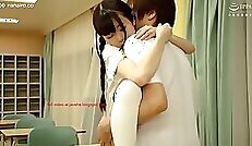 Clip asian school girl playing around with brunnettezz pussies