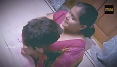 Chubby Indian Lady with younger man